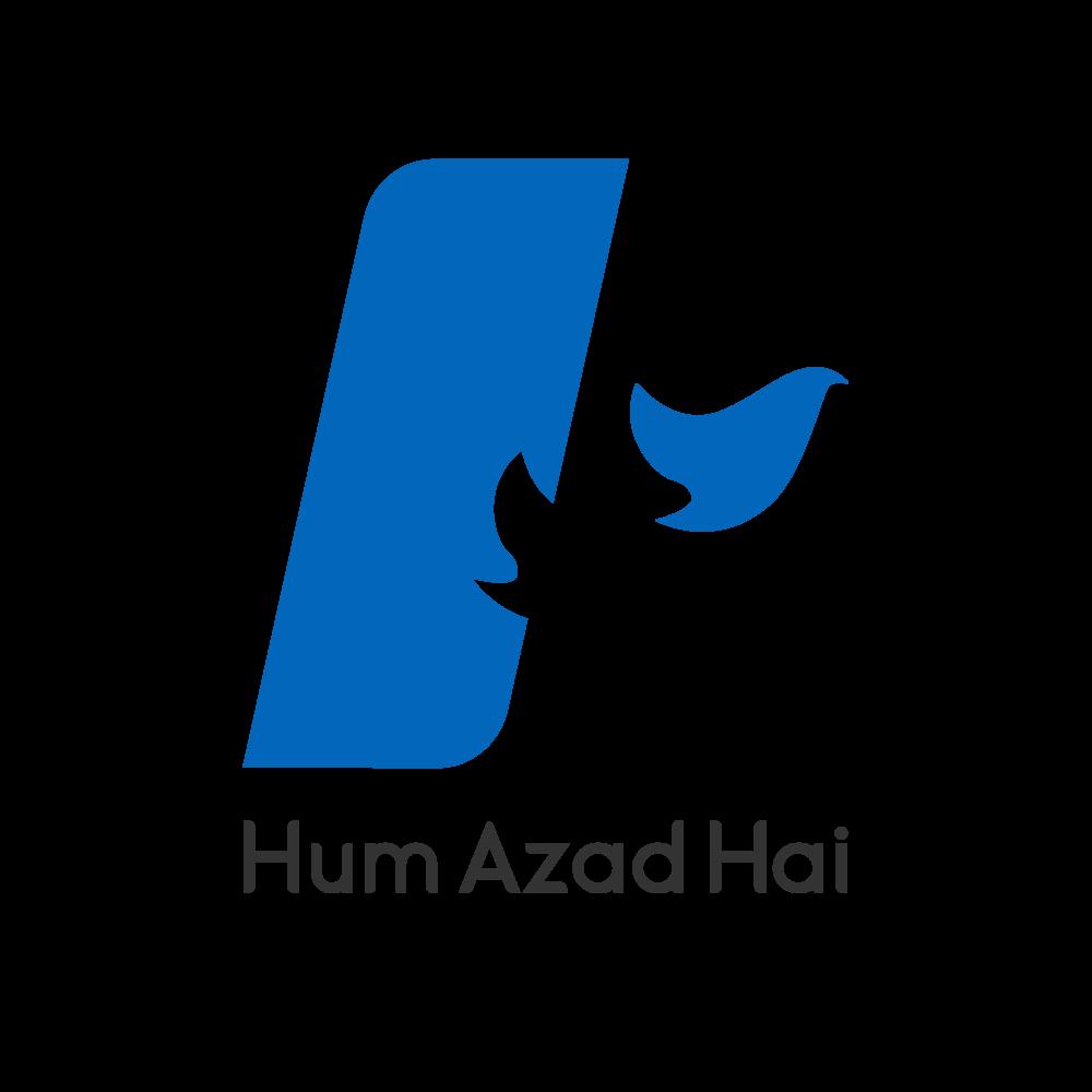 The new logo of Hum Azad Hai